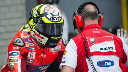 Helm KYT MotoGP. - INDOSPORT