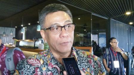 Ketua umum PP Pelti, Rildo Ananda Anwar. - INDOSPORT