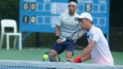 Indosport - Tim tenis Indonesia dikalahkan Barbados di hari kedua Piala Davis 2021 Grup Dunia II.