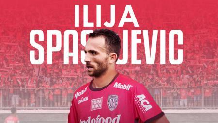 Ilija Spasojevic resmi gabung Bali United. - INDOSPORT