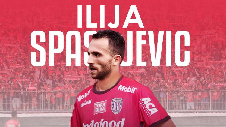 Ilija Spasojevic resmi gabung Bali United. Copyright: Grafis: Eli Suhaeli/INDOSPORT
