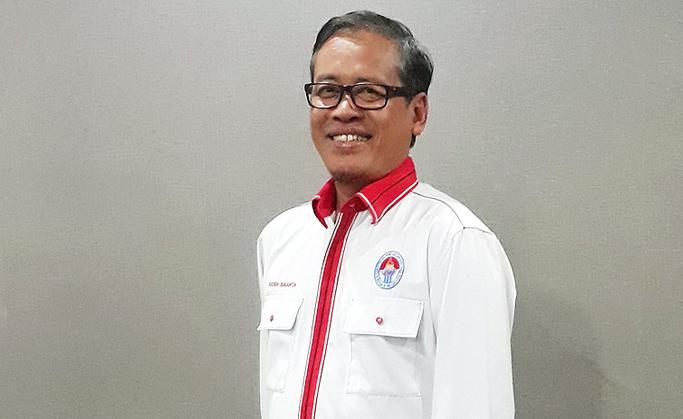 Raden Isnanta, Deputi III Kemenpora, Bidang Pembudayaan Olahraga. Copyright: Ayo Olahraga