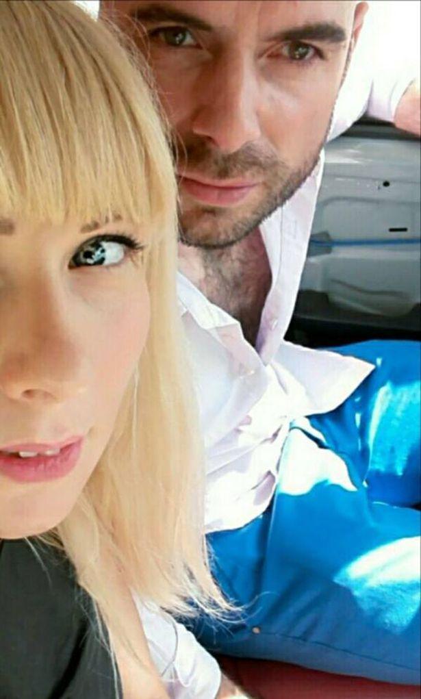 Sepasangan suami istri Antonella Barbieri dan Andrea Benatti. Copyright: mirror.co.uk