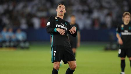Cristiano Ronaldo di laga Real Madrid vs Al Jazira - INDOSPORT