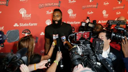 Superstar Houston Rockets James Harden. - INDOSPORT