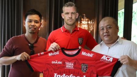 Ilustrasi Kevin Brands resmi diperkenalkan Bali United. - INDOSPORT