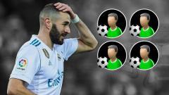 Indosport - Karim Benzema.