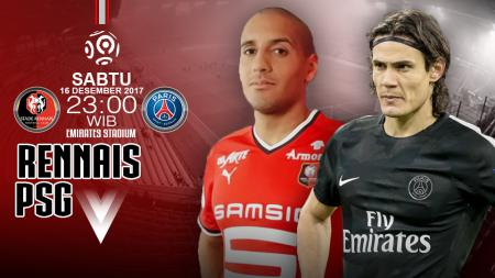 Prediksi Stade Rennais vs Paris Saint-Germain. - INDOSPORT