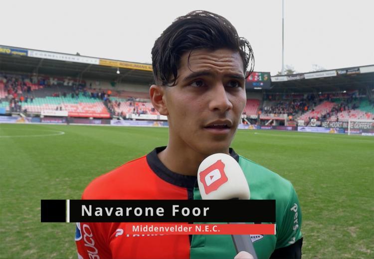 Navarone Chesney Kai Foor, pemain Belanda berdarah Maluku, Indonesia Copyright: internet