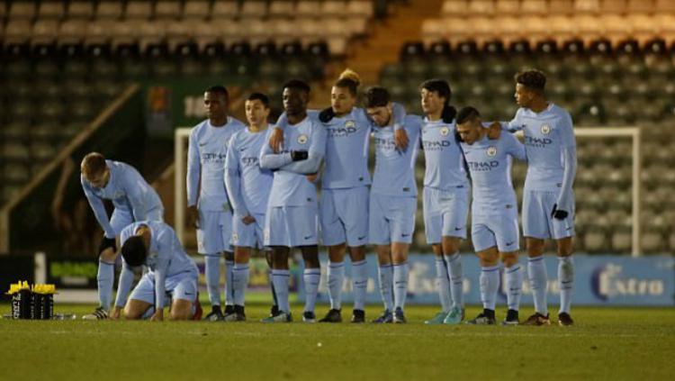 Manchester City U-18 tampil cukup buruk musim ini. Copyright: INDOSPORT
