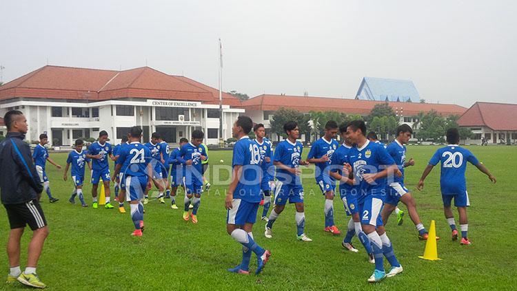 Suasana latihan para pemain Persib Bandung. Copyright: Arif Rahman/INDOSPORT