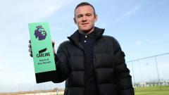 Indosport - Wayne Rooney raih gol terbaik Liga Primer Inggris bulan November.