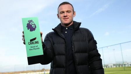 Wayne Rooney raih gol terbaik Liga Primer Inggris bulan November. - INDOSPORT
