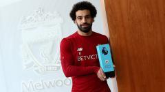 Indosport - Mohamed Salah terpilih jadi pemain terbaik Liga Primer Inggris bulan November.