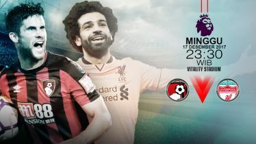 Prediksi Bournemout vs Liverpool. - INDOSPORT