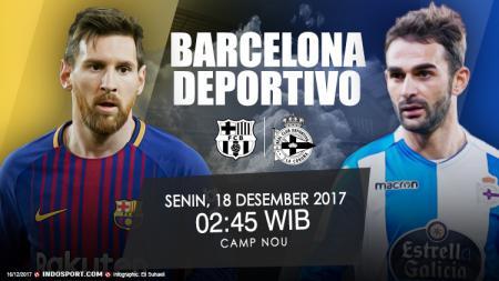 Prediksi Barcelona vs Deportivo La Coruna. - INDOSPORT