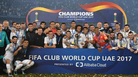 Real Madrid meraih gelar juara Piala Dunia Antarklub. - INDOSPORT