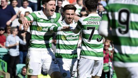 Glasgow Celtic menunjukkan taringnya sebagai tim kuda hitam Liga Europa dengan menerapkan pola penguasaan bola dalam permainannya. - INDOSPORT