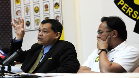 Datuk Hamidin Mohd Amin, Presiden Federasi Sepak Bola Malaysia. - INDOSPORT