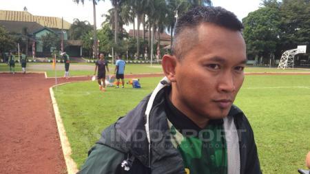 Pelatih PS TNI, Rudy Eka Priyambada. - INDOSPORT
