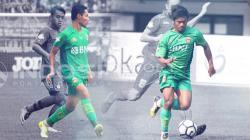 Evan Dimas dan Ilham Udin Armaiyn.