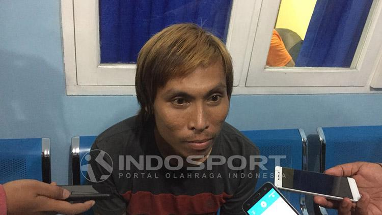 Asri Akbar Copyright: Indosport/Muhammad Adiyaksa