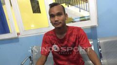 Indosport - Riko Simanjuntak, pemain Persija Jakarta dan Timnas Indonesia.
