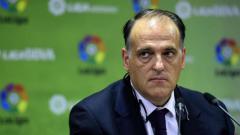 Indosport - Presiden La Liga, Javier Tebas.