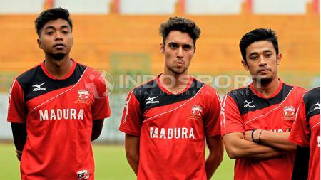 Kevin Scheunemann ikuti trial di Madura United. - INDOSPORT