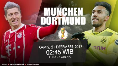 Prediksi Bayern Munchen vs Borussia Dortmund. - INDOSPORT