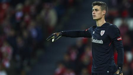 Kepa Arrizabalaga, saat Athletic Bilbao vs Real Madrid - INDOSPORT