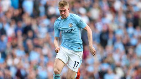Pemain Manchester City, Kevin De Bruyne. - INDOSPORT
