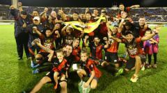 Indosport - Juara Liga Singapura dari Brunei, DPMM FC.