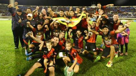 Juara Liga Singapura, Brunei DPMM FC. - INDOSPORT