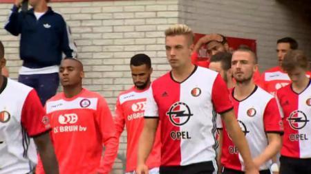 Kristian Adelmund saat berseragam SC Feyenoord. - INDOSPORT