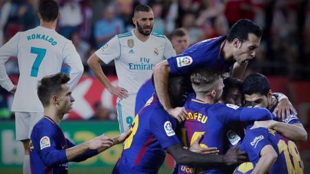 Real Madrid vs Barcelona - INDOSPORT
