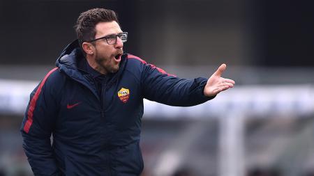 Pelatih AS Roma, Eusebio Di Francesco. - INDOSPORT