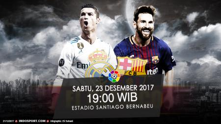 Prediksi Real Madrid vs Barcelona. - INDOSPORT