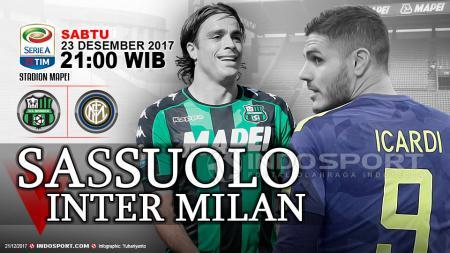 Prediksi Sassuolo vs Inter Milan - INDOSPORT