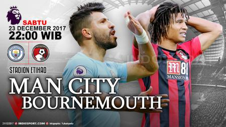 Prediksi Manchester City vs Bournemouth - INDOSPORT