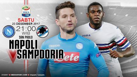 Prediksi Napoli vs Sampdoria - INDOSPORT
