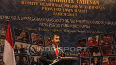 Indosport - Ketua Umum KONI Jabar, Ahmad Saefudin.