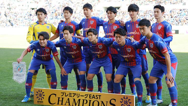 Skuat Tokyo FC. Copyright: INDOSPORT