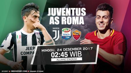 Prediksi Juventus vs AS Roma. - INDOSPORT