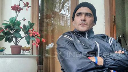 Cristian Gonzales inginkan penyelesaian secara baik-baik dengan Arema FC. - INDOSPORT