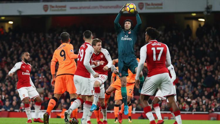 Arsenal vs Liverpool Copyright: INDOSPORT