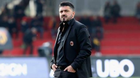Gennaro Gattuso saat melatih AC Milan - INDOSPORT