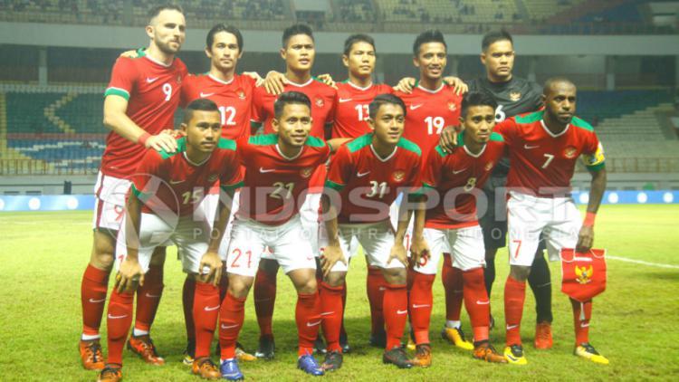 Timnas Indonesia. Copyright: INDOSPORT/Abdurrahman.R