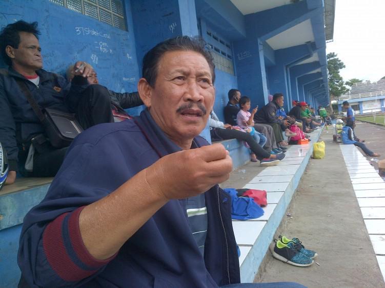 Legenda Persib Bandung Adeng Hudaya Copyright: Adeng Hudaya/Foto Dani Wihara