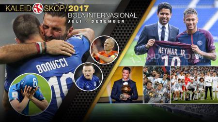 Kaleidoskop Bola Internasional 2017. - INDOSPORT